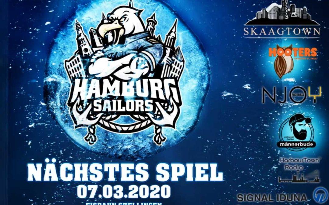 FINAL GAME – Hamburg Sailors – 07.03.2020